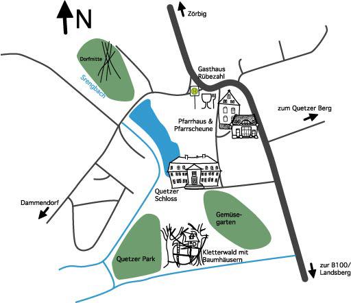 Lagezeichnung Quetzdölsdorf