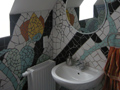 Mosaikfliesen im Bad