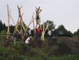 Bau der Quetzer Dorfmitte