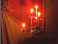 Kerzenleuchter im Quetzer Salon