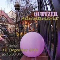 Am 17.12. öffnen wir noch einmal die Tore und laden zu einem behaglichen Beisammensein zum Adventsmarkt.