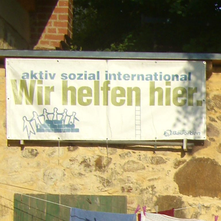 Bereits das 15. und 16. internationale Baucamp findet dieses Jahr in Quetz statt.
